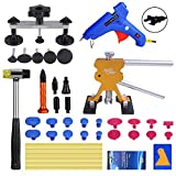 Super PDR Paintless Dent Repair (PDR Tool) Kit - 42Pcs Car Dent Puller Removal Dent Remover Kit