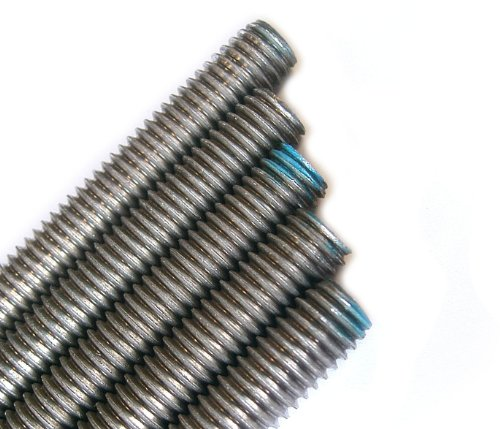 Stainless Steel Threaded Rod 1/4-20 x 3FT (5 Piece Bundle)