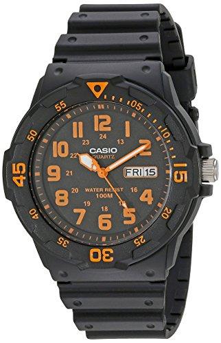 Casio Unisex MRW200H-4BV ''Neo-Display'' Black Watch