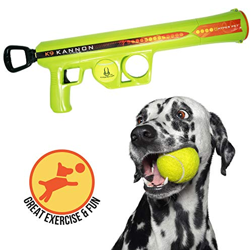 Hyper Pet Dog Ball Launcher, Dog Ball Thrower-Interactive Dog Toys (Load & Launch Tennis Balls for Dogs to Fetch) [Best Dog Ball Launcher Dog Toys for Large, Medium & Small Dogs] 3 Styles Available