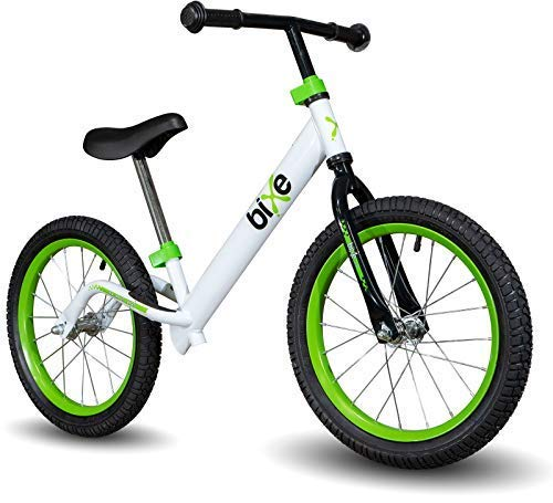 Bixe 16' Pro Balance Bike for for Big Kids 5, 6, 7, 8 and 9 Year Old - No Pedal Sport Training Bicycle