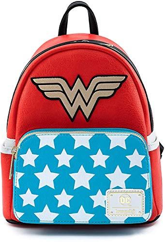 Loungefly Vintage Wonder Woman Cosplay Mini Backpack Standard