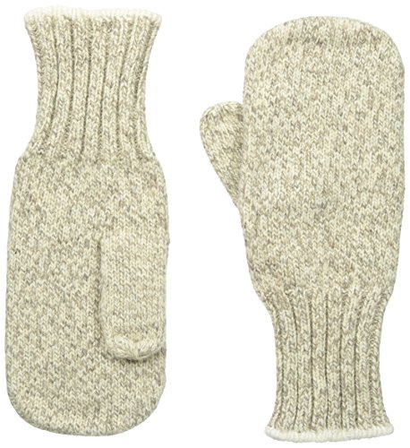 Fox River Ragg Heavyweight Mitten, Brown Tweed, Medium