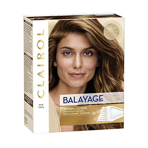 Clairol Nice'n Easy Balayage Permanent Hair Dye, Brunettes Hair Color, 1 Count
