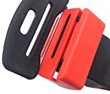 G Ganen Buckle Guard Compatible With Seat Belt - Preventing Children Opening Buckle In Traveling Comes With Keychain