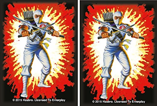 Storm Shadow - Cobra Ninja - 100 Gloss Finish G.I. Joe Sleeves by MAX PRO (fits Magic / MTG Cards)