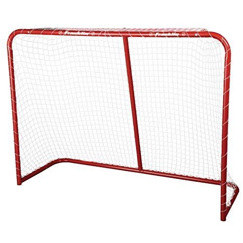 Franklin Sports Street Hockey Goal - Steel Street Hockey Net - All Weather Durable Outdoor Goal - 54'