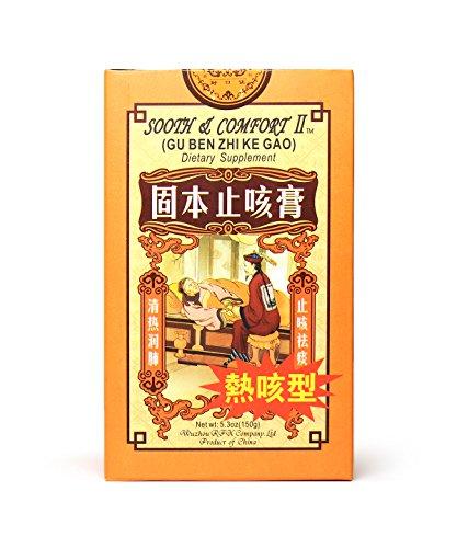 Sooth & Comfort II Gu Ben Zhi Ke Gao Cough Syrup Herbal Supplement for Heat Cough 5.30oz 150g