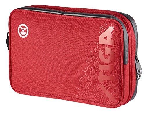 STIGA Table Tennis Wallet Double Hexagon Red/Black