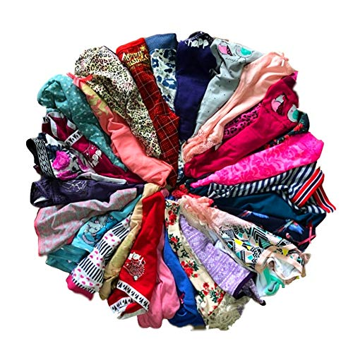 DIRCHO Women Underwear Variety of Panties Pack Lacy Cotton Briefs Hipsters Bikinis Boyshorts Undies with Coverage (6 Pcs, X-Small)