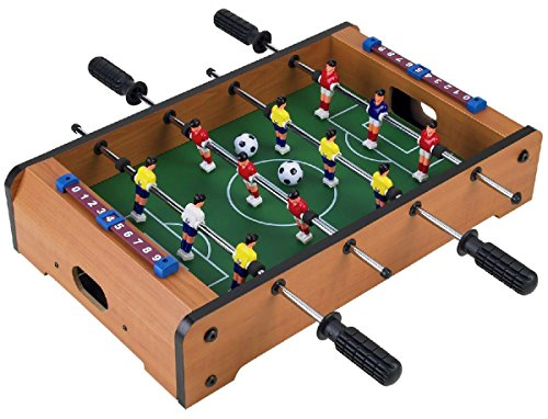 Homeware Wooden Classic Mini Table Top Foosball (Soccer) Game Set - 20'