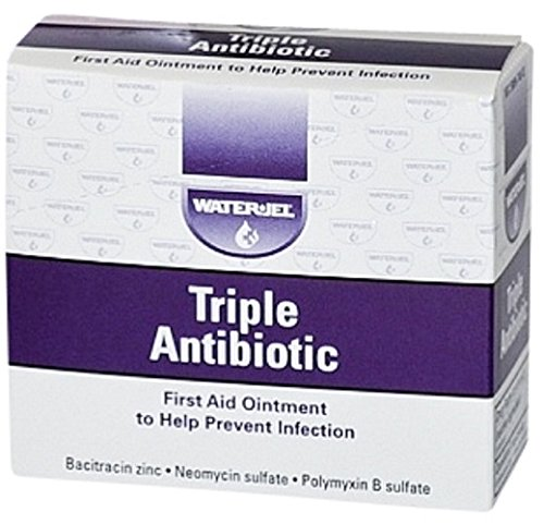 Triple Antibiotic Cream, First Aid Antiseptic Ointment Packets, 25 Pack