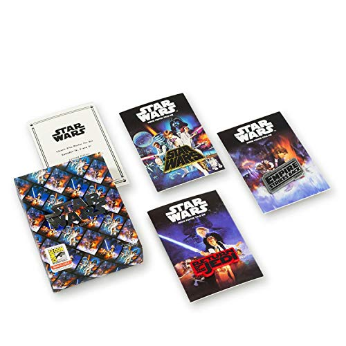 Star Wars Collectibles | Star Wars Movie Posters Enamel Pin Set | Episode 4-6