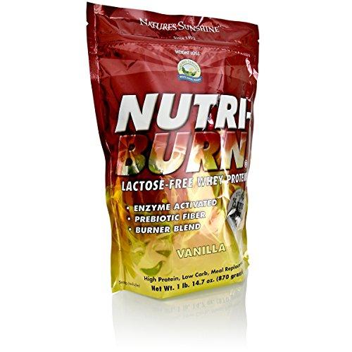 Nature's Sunshine Nutri-Burn Protein Matrix Vanilla, 2 lb.