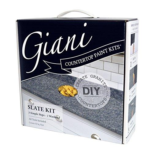 Giani Granite Countertop Paint Kit, Slate
