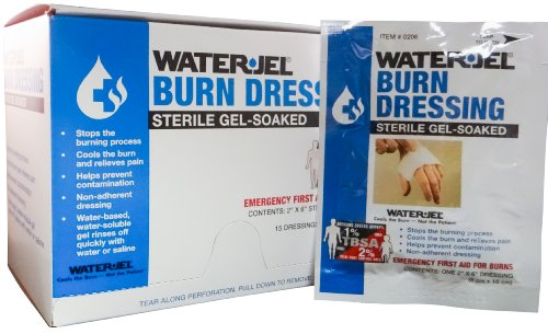 Water-Jel Burn Care Products 2' x 6' Dressing 5 Packet - MS46210