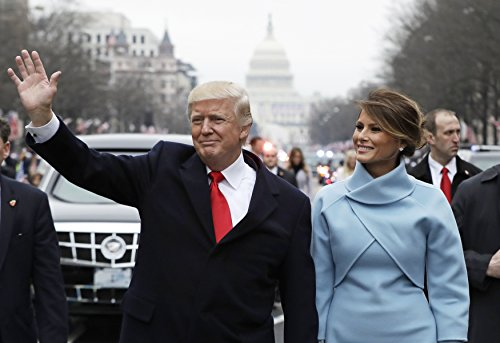 ConversationPrints President Donald Trump First Lady Melania Glossy Poster Picture Photo Wife