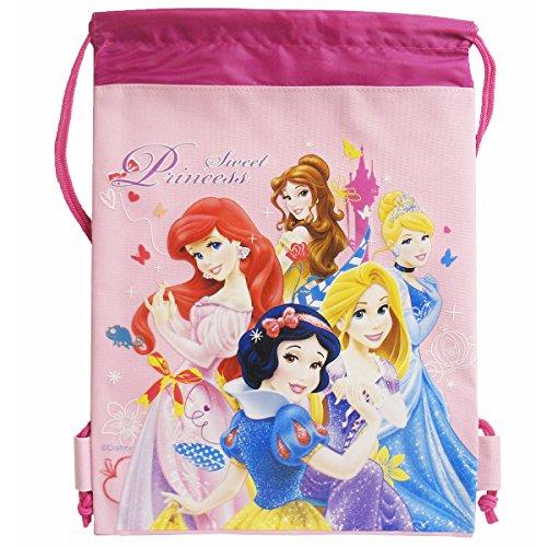 Disney Sweet Princess Pink Drawstring Bag