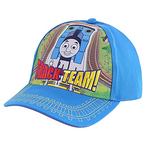 Mattel Baby Kids Hat for Toddler Boys Ages 2-4 Thomas & Friends Baseball Cap, Blue