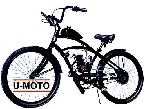 2-STROKE 66cc/80cc MOTORIZED BIKE KIT WITH 26' CRUISER BIKE DIY MOTOR BIKE SYSTEM