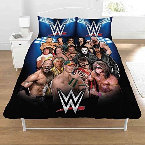 WWE 50 Percent Cotton/50 Percent Polyester Full Legends Duvet Set , multicoloured