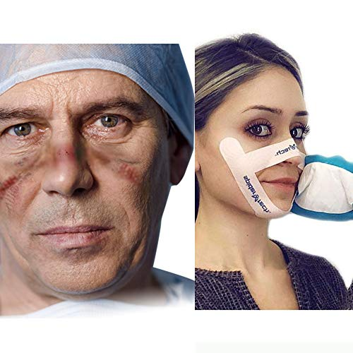 Face Protection Strips - Protect the Sensitive Skin On Your Face From Injury, Irritation, Scarring and Burns. 100 Pieces