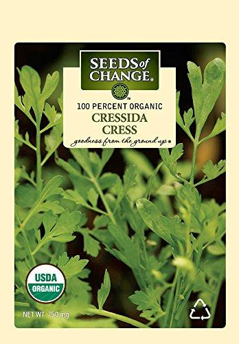 Seeds Of Change 5696 Certified Organic Cress Cressida