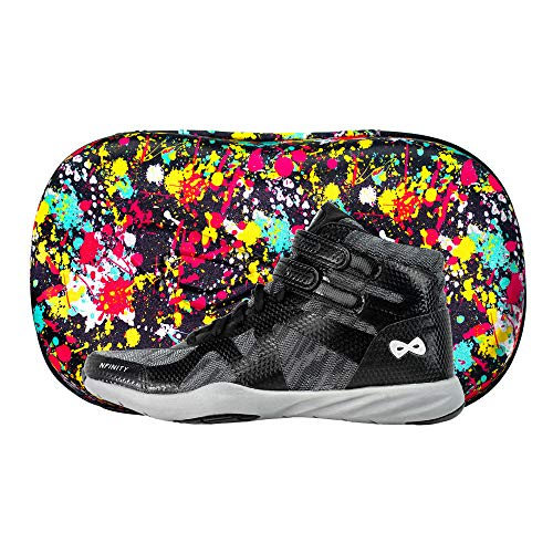 Nfinity Beast Mid-Top Cheer Shoe - All-Surface Cheerleading - High Ankle - Black A7