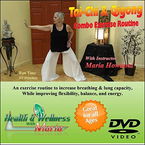 KHE Tai-Chi & Qigong Combo DVD, Increase Breathing, Stamina, Flexibility, Great for Seniors