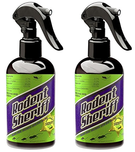Rodent Sheriff Pest Control - Ultra-Pure Peppermint Spray - Repels Mice, Raccoons, Ants, and More - Made in USA (2)