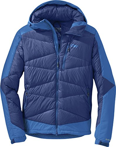 Outdoor Research Diode Hooded Jacket baltic/glacier L