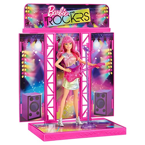 Barbie and rockers concert stage - fully furnished