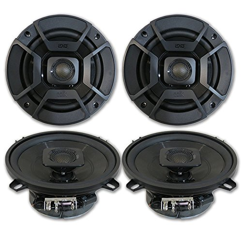 4 x Polk Audio 5.25' 2-Way Car Audio Boat Marine ATV UTV Audio Coaxial Speakers 5-1/4'