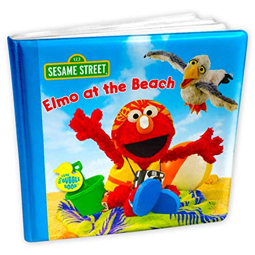 Bath Toy Book for Kids (Sesame Street Elmo)
