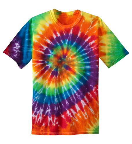 Koloa Surf Co. Youth Colorful Tie-Dye T-Shirt in Youth Sizes XS-XL Rainbow