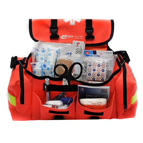 First Aid Kit Emergency Response Trauma Bag Complete