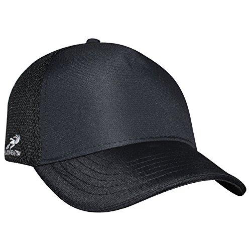 Headsweats Trucker Black Eventure 5-Panel Hat, Black, One Size
