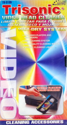 Video Head Cleaner, wet/dry