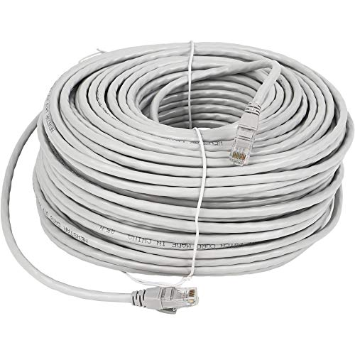 Lknewtrend 150FT Feet Cat6 Ethernet Patch Cable - UTP 550Mhz RJ45 Network Internet Wire Cord for Computer, PoE Camera, Router, Modem, Switch