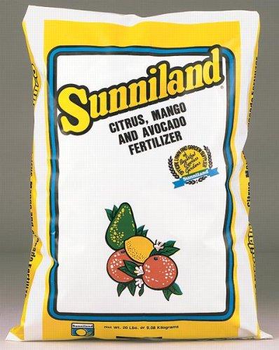 Sunniland Citrus , Mango And Avocado Fertilizer 6-4-6 Granules 20 Lb.