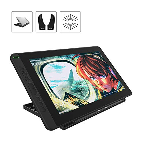 HUION Kamvas 13 Drawing Tablets with Screen Android Supported 13.3 inch Full-Laminated Anti-Glare Pen Display 120% sRGB 8192 Levels Tilt Function Drawing Monitor - Stand Included