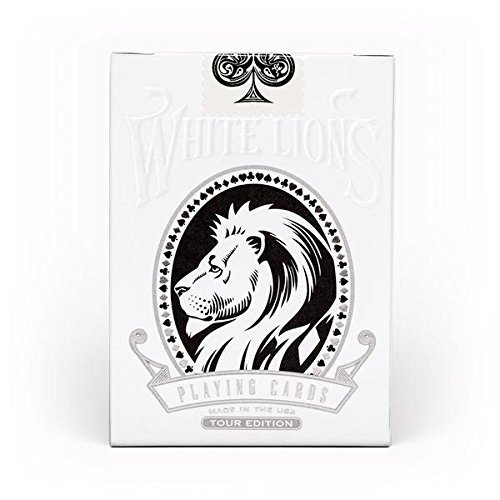 David Blaine White Lions Tour Black Playing Cards Limited Edition Deck