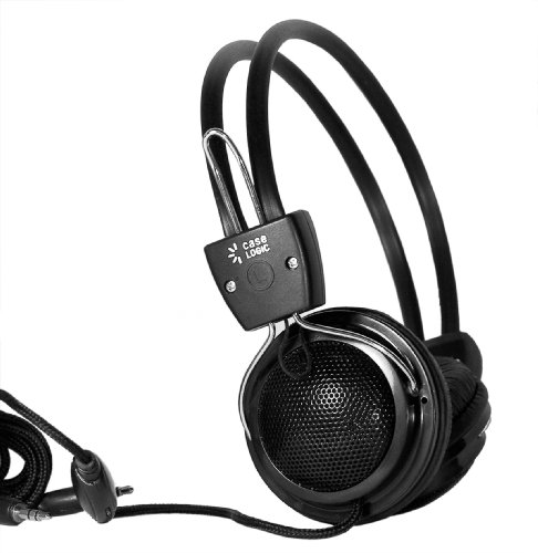 Case Logic Bass-Boost Headphones with Inline Mic