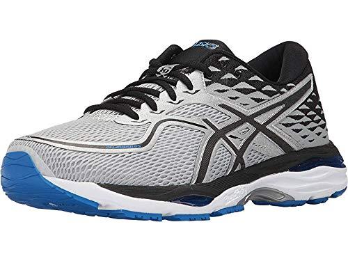 ASICS Men's Gel-Cumulus 19 Running Shoe, Grey/Black/Directoire Blue, 10.5 Medium US