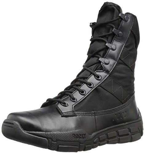 Rocky mens Ry008 Military and Tactical Boot, Black, 10.5 US