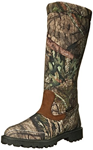 Rocky Men's Low Waterproof Snake Boot Knee High, Mossy Oak Break Up Country Camoflauge, 10.5 M US