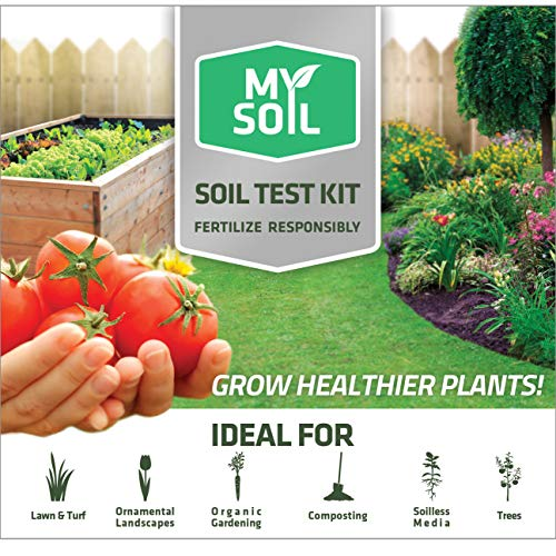 MySoil-Soil Test Kit | Grow The Best Lawn and Garden | Know Exactly What Your Soil and Plants Need | Provides Complete Nutrient Analysis and Recommendations Tailored to Your Soil