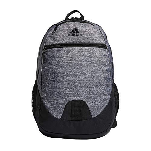adidas Unisex Foundation Backpack, Onix Jersey/Black, ONE SIZE