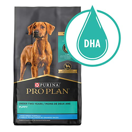 Purina Pro Plan Brand Large Breed Dry Puppy Food, Chicken & Rice Formula - 34 lb. Bag