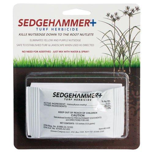 Sedgehammer Plus Turf Herbicide 13.5 Grams (2 Packs)